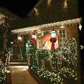 Luz Del Césped al aire libre Cielo Estrella Láser Proyector Impermeable Paisaje Parque Jardín Luces de la etapa de Navidad Decoraciones Del Partido