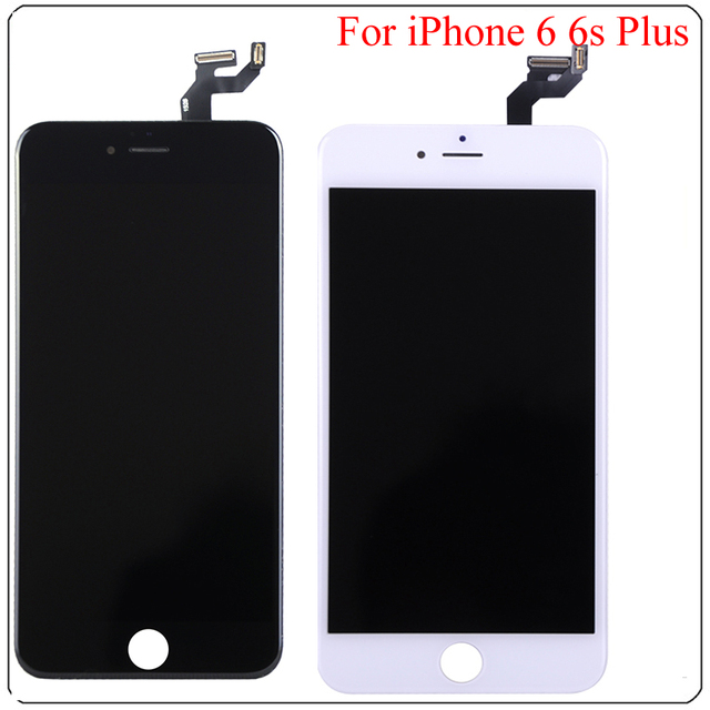 new product 87fe4 dc878 US $22.25 |LCD Display Digitizer For iPhone 6 6s 6 Plus 6s Plus Touch  Screen Complete For iPhone 6 Plus LCD Free Tools + Free Shipping -in Mobile  ...