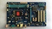 H61 1155 h61 ddr3 lga1155 ddr3 материнская плата используется оригинальный для gigabyte ga-p61-s3 p61-s3 все твердые бесплатная доставка