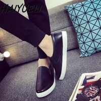 New Hot Sell Men S Casual Flat Shoes Fashion Slip On Loafers Round Toe Board Shoes