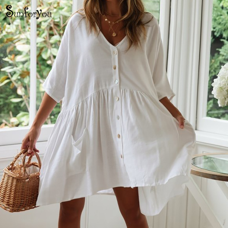 Cotton Beach Cover Up Beach Kaftan Bathing Suit Cover Ups Sarong Pareo De Plage Bikini Cover Up 2019 Vestidos De Playa Beachwear