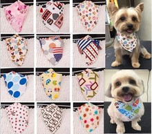10pcs lot of puppy bandanas / scarves