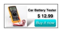 Car Battery Tester $12.99