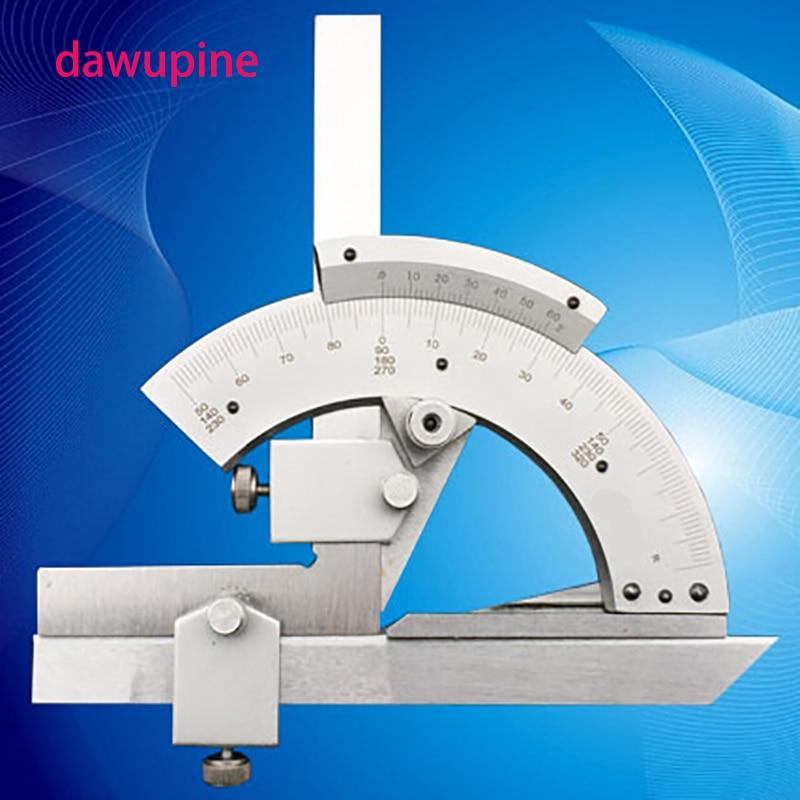 dawupin kurzor szög vonalzó multifunkcionális szögmérő szögmérő mérő dőlésmérő szerszámszög mérése 0-320 fok