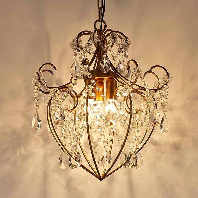 led light chandelier for living room crystal classic chandelier dining room gold crystal lights retro lighting