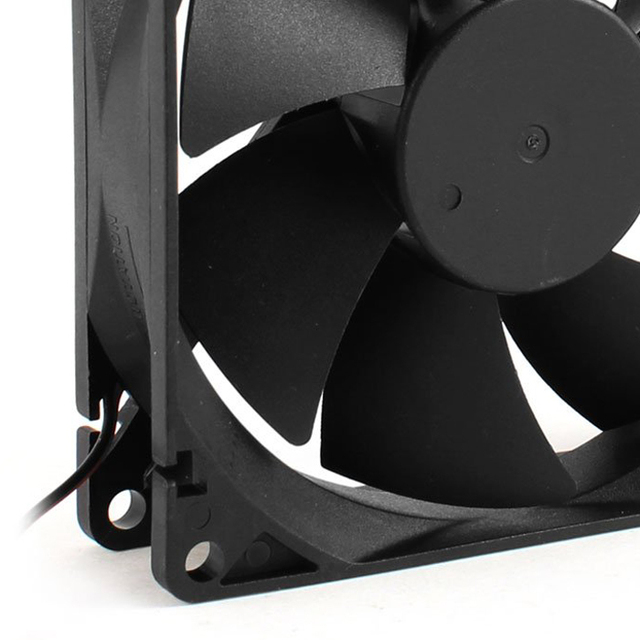 CAA Hot 92mm x 25mm 24V 2Pin Sleeve Bearing Cooling Fan for PC Case CPU Cooler 1
