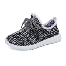 3-12Year Kids shoes For Girls Sneakers 2019 New Fashion Mesh Comfortable toddler Boys Children trainers Flyknit Shoe