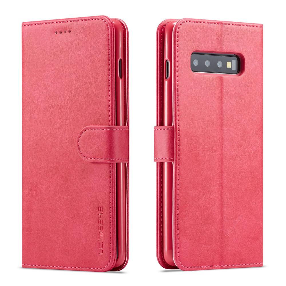 HTB1ARwVbcrrK1RjSspaq6AREXXaQ LOVECOM Vintage Leather Wallet Flip Phone Cases For Samsung Galaxy A10 A20 A40 A50 A60 M30 S10 Plus S10e S9 Note 8 9 Back Cover