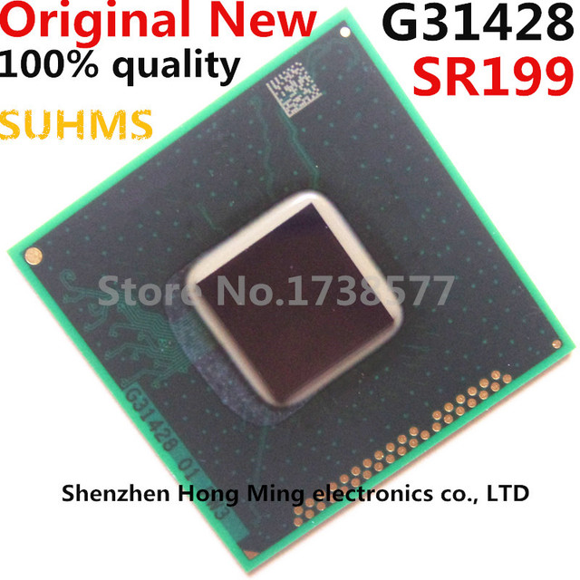 Novo chipset sr199 g31428 bga, 100%