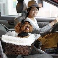 Переноска в автомобиль для домашних собак Складная портативная безопасная многофункциональная автомобильная кровать для путешествий вод...