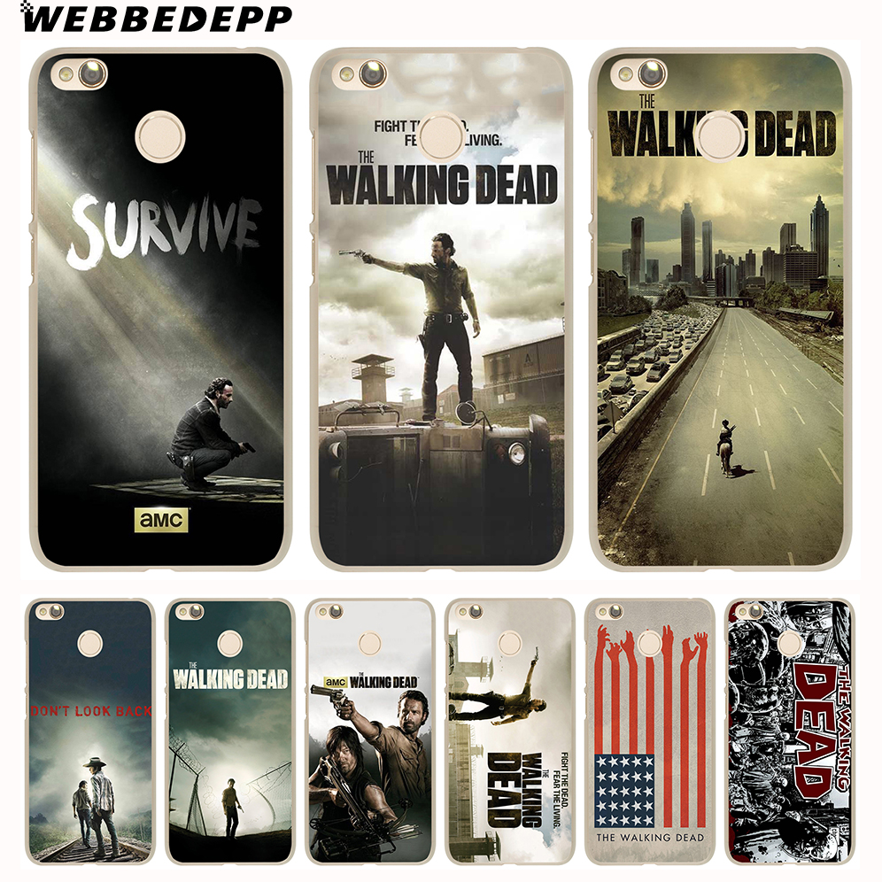 Webbedepp The Walking Dead 1 Phone Case For Xiaomi Redmi 4x 4a 5a 5 Ume Tempered Glass Note 4 Plus 6 Pro 6a 3s S2 Cover In Half Wrapped From Cellphones