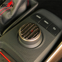 For Lexus IS 250 300 350 2014 2015 2016 2017 2018 Car Central Console GPS Navigation Knob Panel Cover Trim Real Carbon