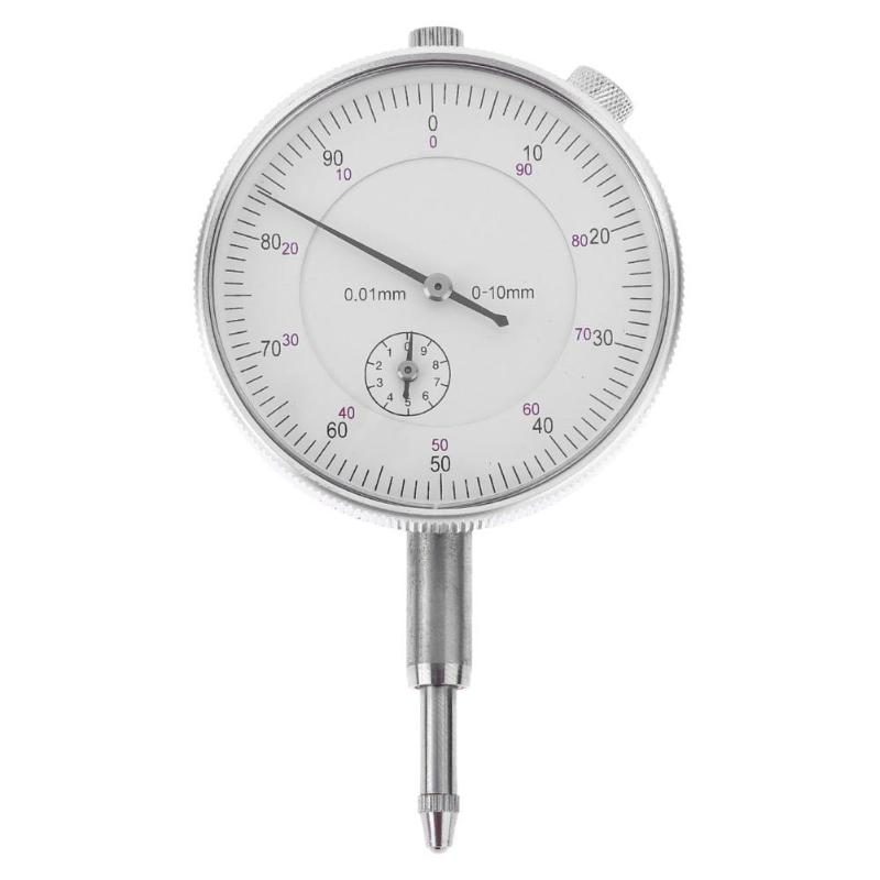 Precision Tool 0.01mm Accuracy Dial Indicator Gauge Test Measuring Instrument Indicator Gauge Tool Round GaugeS