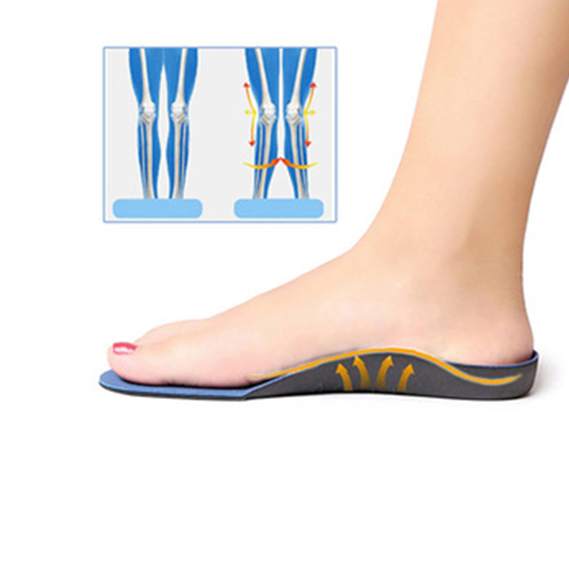 2019 Orthopedic InsolesFlatfoot Orthotics Cubitus Varus  Orthopedic Foot Pad Care Insole Unisex Deodorant Insole
