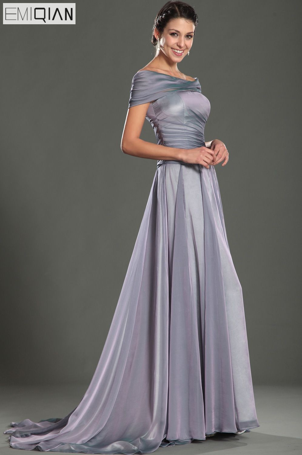 Free Shipping New Design Gorgeous Off The Shoulder A Line Court Train  Evening Dress-in Evening Dresses from Weddings   Events on Aliexpress.com  a992464c9b5a