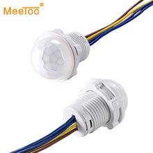 PIR Sensor Detector Light-Switch Closet Mini Infrared 220V 110V LED