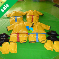 MZQM Kids use sports games foam padded sumo suit for hot sale junior