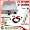 Sunhans Marketing direto UMTS-950 3G Freqüência 2100 MHz impulsionador + antena externa coberta + cabo 1 sets