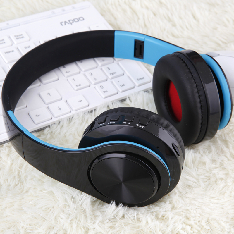 Tourya B7 Wireless Headphones Bluetooth Headset Foldable Headphone Adjustable Earphones With