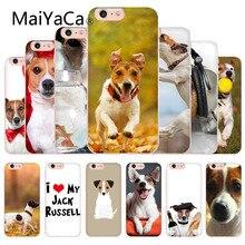 MaiYaCa Джек Рассел Терьер Собака Мягкий ТПУ чехол для телефона оболочка для iphone X 8 8 плюс прозрачный чехол и 7 7 плюс 6 6s