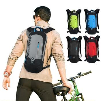 цена Bicycle Bag Waterproof Bike Backpack Nylon Cycling Hiking Camping Hydration Backpack Bike Equipment 10L Riding Bag онлайн в 2017 году