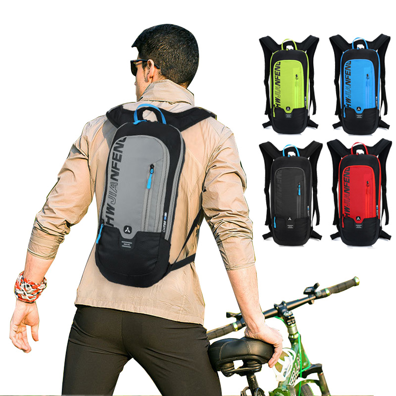 Bicycle Bag Waterproof <font><b>Bike</b></font> Backpack Nylon Cycling Hiking Camping Hydration Backpack <font><b>Bike</b></font> <font><b>Equipment</b></font> 10L Riding Bag image