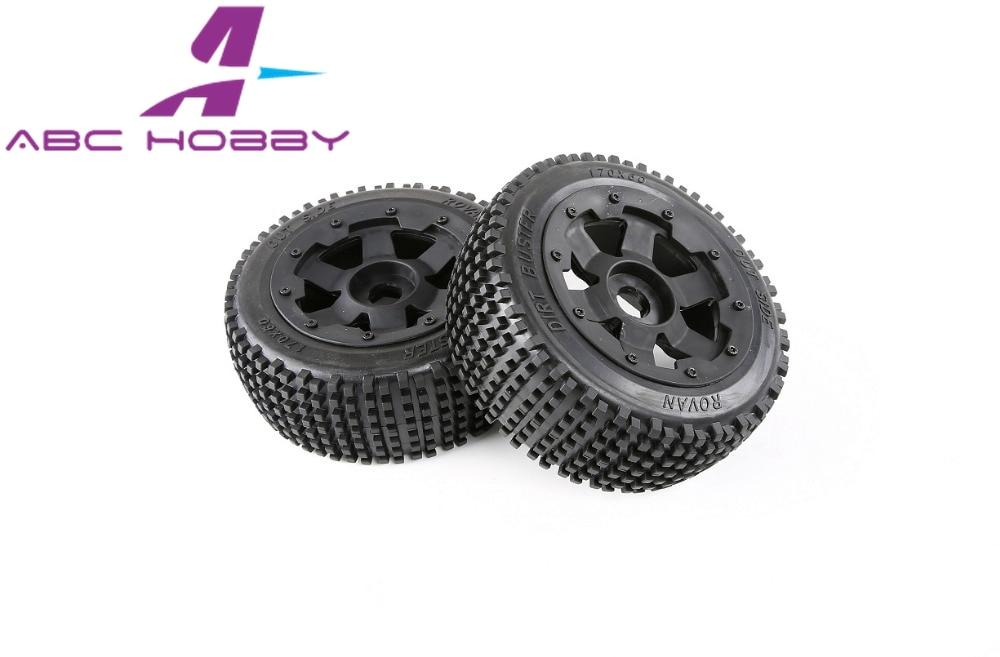 HPI RACING/KM HPI 5B 5T 5SC LOSI TDBX FS racing MCD 1/5 RC tyres parts 5B  Front wheel pin tyres set
