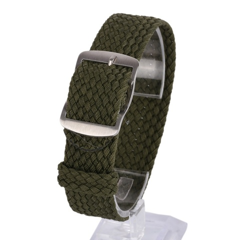 Newest Fashion 16 18 20 22MM Nylon Straps Watches Straps Weave  Watchband  Watch Band  Wristband Colorful Color Pakistan