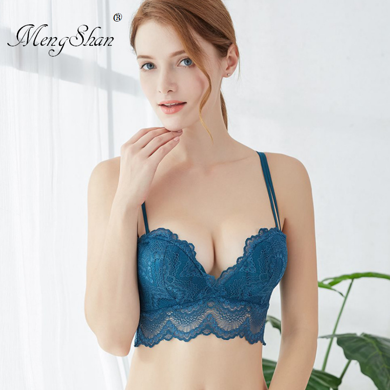 3D Massage Palm Cup Ring-free lace edge Comfortable Gathering Sexy Underwear Adjustable <font><b>bra</b></font> push up underwear women 80A 80B <font><b>80C</b></font> image