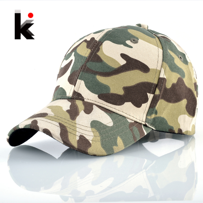 Baseball-Cap Sport Snapback Hunting Camouflage Hat Women Casual Adjustable for Outdoor