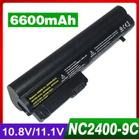 6600mAh Laptop Battery For HP 2533t Mobile Thin Client EliteBook 2540p 2530p For COMPAQ 2400 nc2400 nc2410 2510p KU529AA RW556AA
