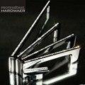 96mm 128mm 160mm 192mm tampo de vidro de qualidade diamante dresser puxe móveis handle crystal clear prata cromo gaveta do armário punho