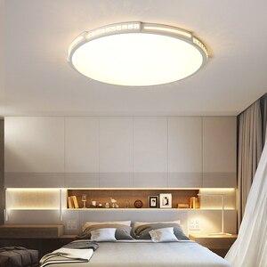 Image 5 - קריסטל תקרת מנורת קוטר 42/52/80 cm לסלון חדר שינה אקריליק מודרני LED תקרת אורות lamparas דה techo plafondlam