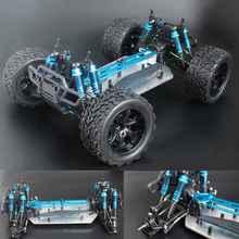 Обновленная версия Шасси 1/10 RC 4WD модель автомобиля багги Грузовик Monster Bigfoot пустая рама бесщеточная версия HSP 94111