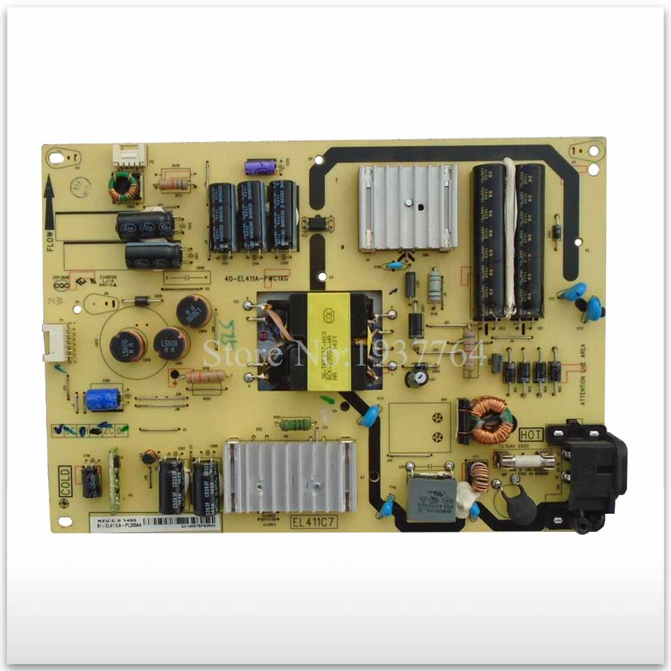 цена на 95% new Original power supply board 40-EL411A-PWC1XG used board