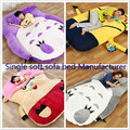 1pcs Anime My Neighbor Totoro Despicable me One piece Chopper character style single tatami soft sofa bed in vacuum bag via EMS.