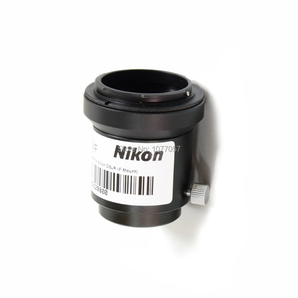 ! NIKON DSLR/SLR CAMERA LENS C mount Adapter for microscope trino head