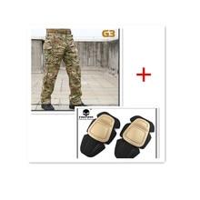 Emerson Tactical Kampf Hosen G3 uniform BDU Militär Armee knieschützer Multicam EM8527