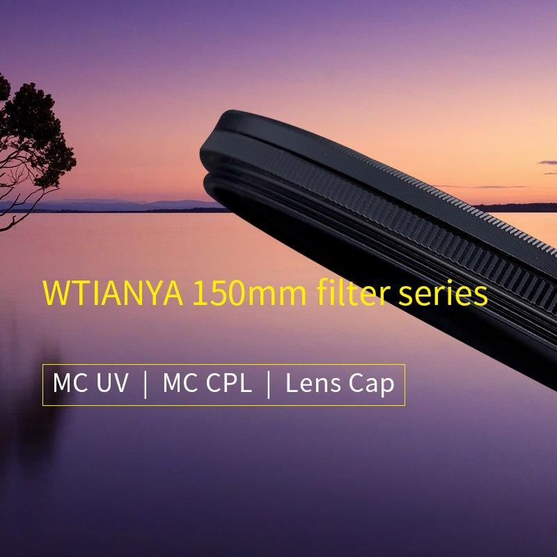 WTIANYA CAMDIOX série 150mm filtre revêtement multicouche MC UV filtre c-polariseur filtre MC CPL ND1000 nd 3.0 filtres à lentilles