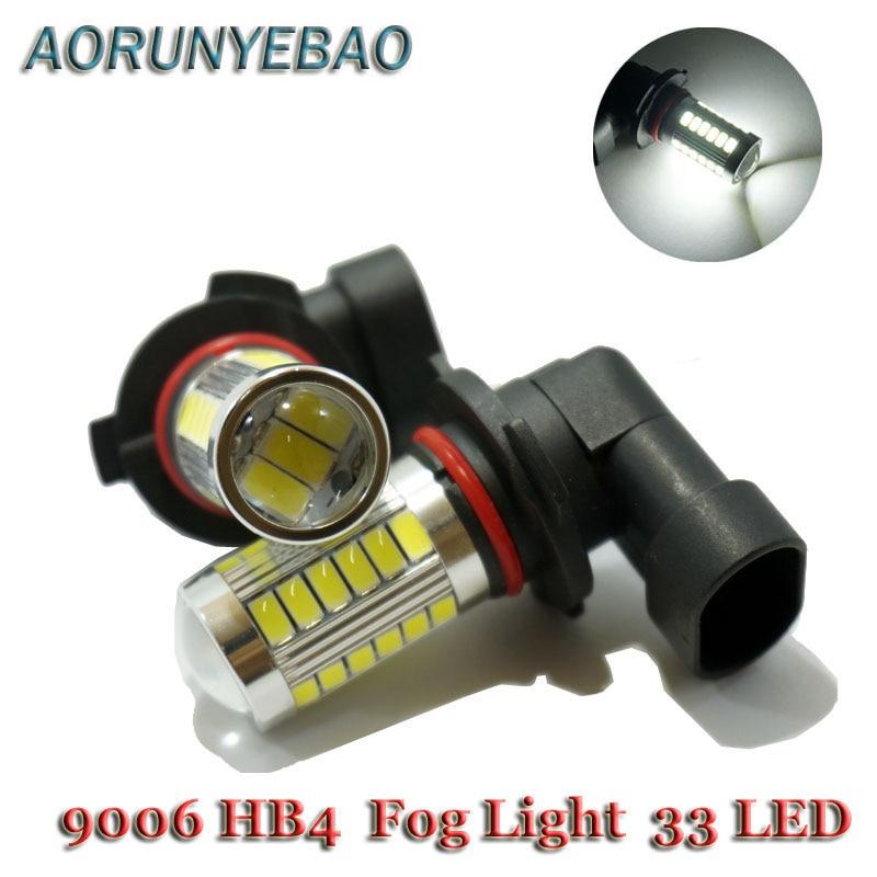 AORUNYEBAO 2X супер яркий 9006 HB4 5630 33 SMD LED t - Автомобильные фары - Фотография 1
