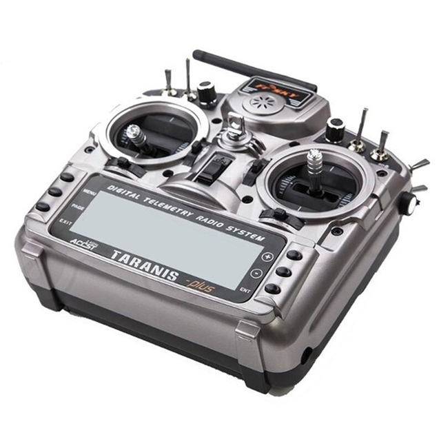 New FrSky Taranis X9D Plus 2.4G ACCST Transmitter With X8R Receiver selection For RC Multicopter Part Racing drone 2