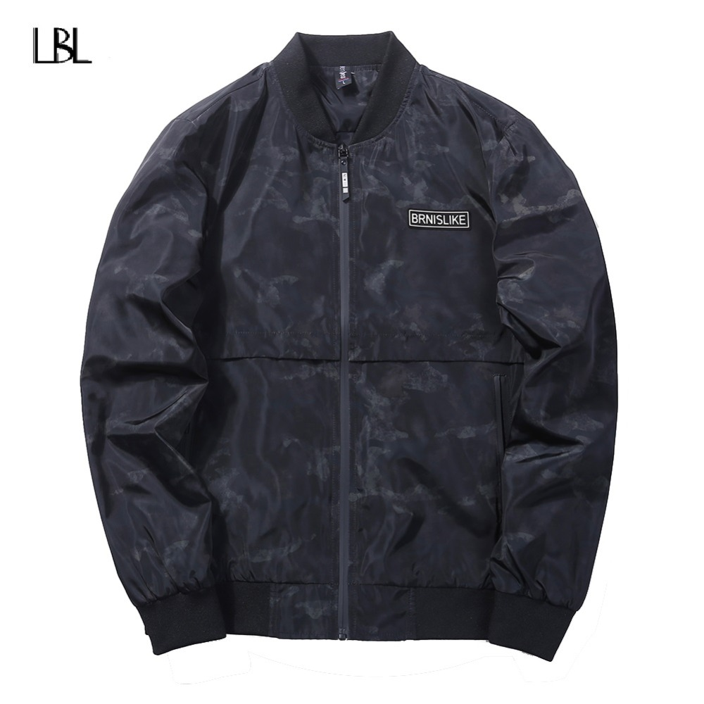 Casual Bomber Jacket Men Fashion Camouflage Jacket Men Streetwear Brand Clothing 2018 New Outerwear Coat Male Camperas De Hombre