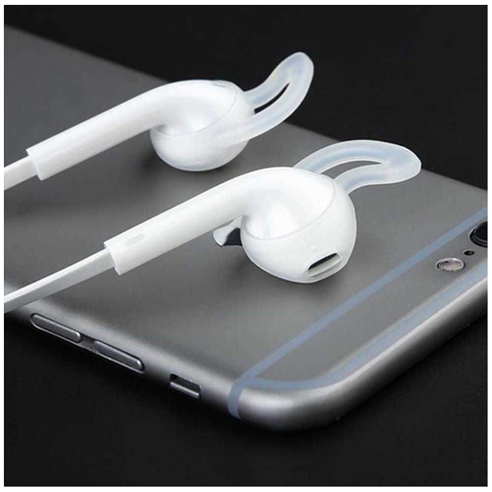 2 ピース/ペア Airpods 用ワイヤレス Bluetooth iphone 7 7 プラスイヤホンシリコーン耳キャップイヤホンケースイヤーパッドイヤチップ
