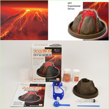 1pcs Volcanic eruptions DIY science experiment kit of physical chemistry experiment