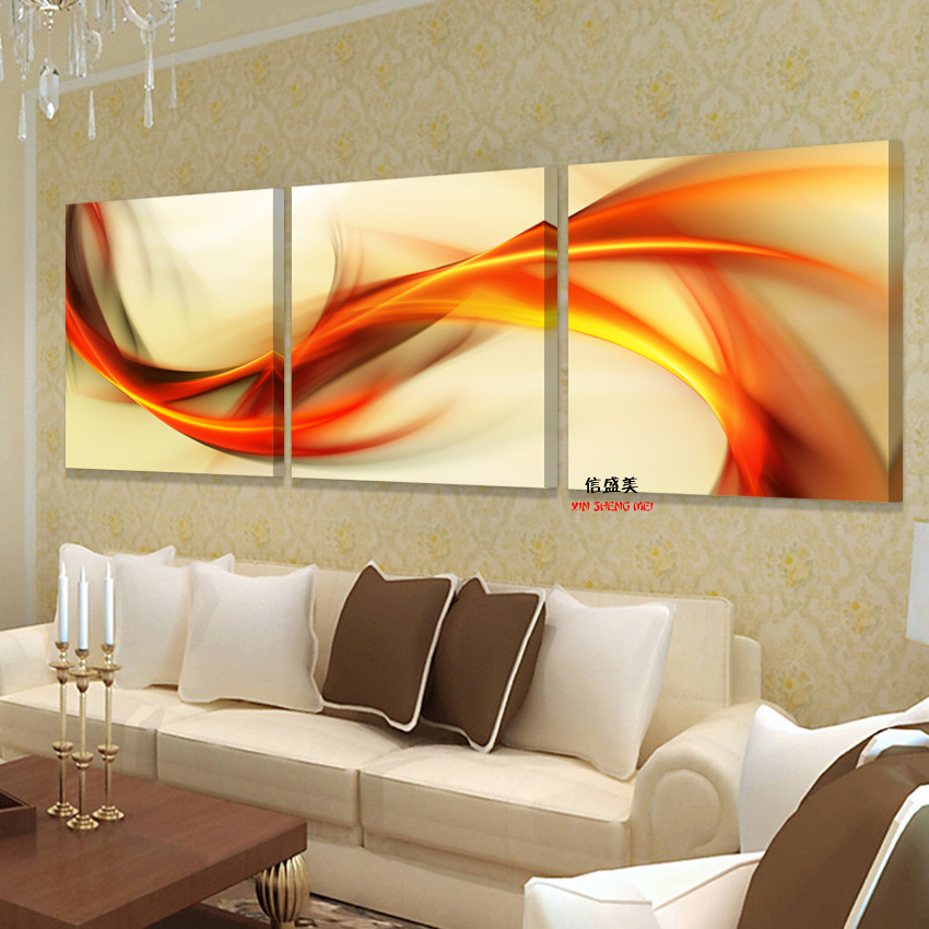 3 Piece modern Still life Paintings Canvas Oil Painting Abstract Modular Picture HD Print Wall Pictures For Living Room no Frame