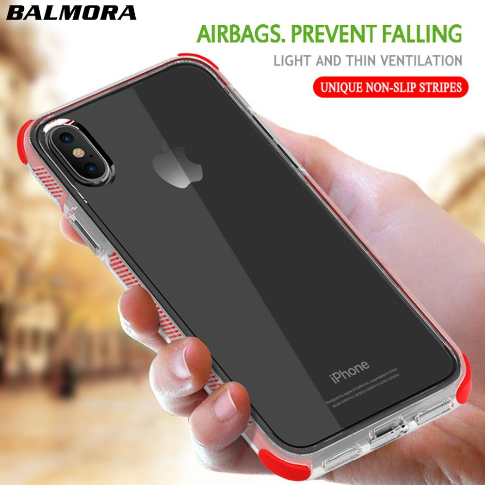 Kids' Clothes, Shoes & Accs. Latest Collection Of 2pcs For Iphone 7 8 Case Shockproof Strongly Prevent 7plus Phone Cases For Iphone X 6s 7 8 Plus Transparent Clear Soft Tpu Cover