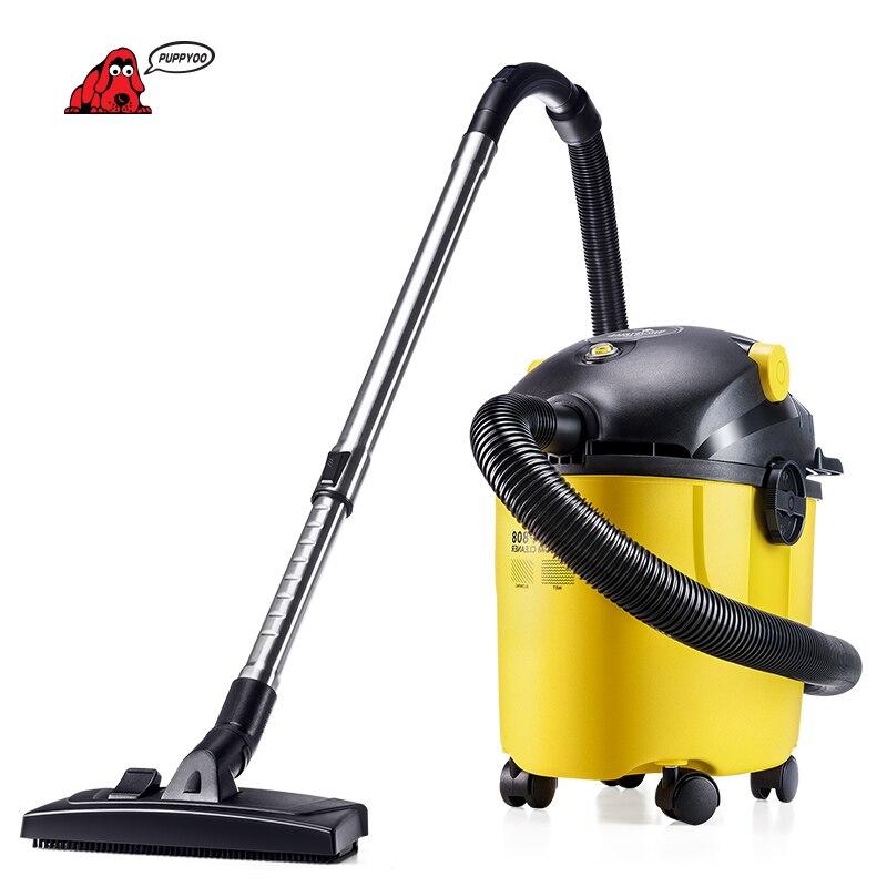 PUPPYOO Secchio Aspirapolvere con Wet, Elettrodomestici WP808 asciutto e Soffiare Tre Funzioni Home and Business