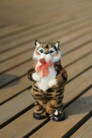Cute Simulation Brown Cat Toy Plush Electric Cat Toy Singing And Dancing Cat Doll Gift About