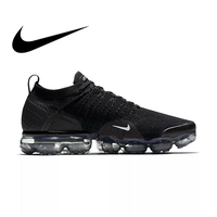 Оригинальная продукция Nike AIR VAPORMAX FLYKNIT 2,0 Аутентичные мужские спортивные уличные кроссовки дышащие прочные кроссовки удобные 942842