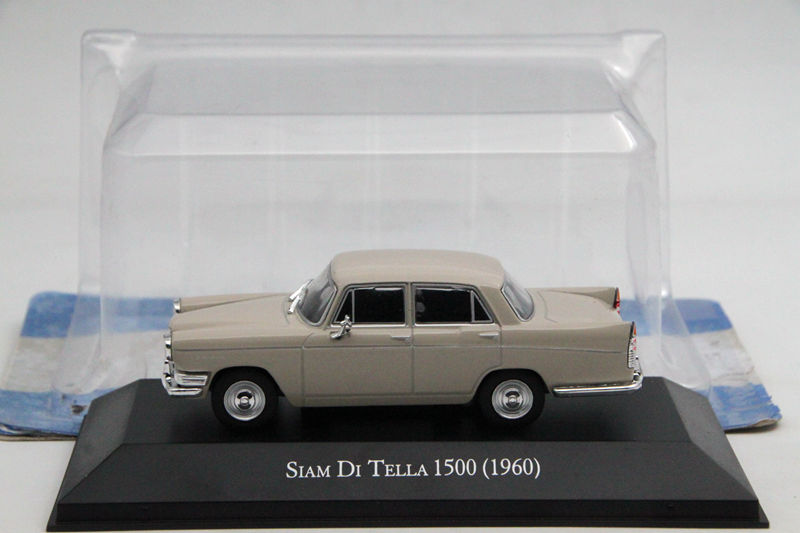 IXO Altaya 1:43 Scale Siam Di Tella 1500 1960 Car Diecast Models Limited Edition Metal auto Collection